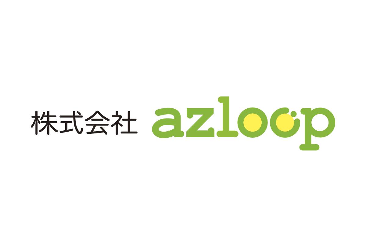 株式会社azloop様、CIロゴ