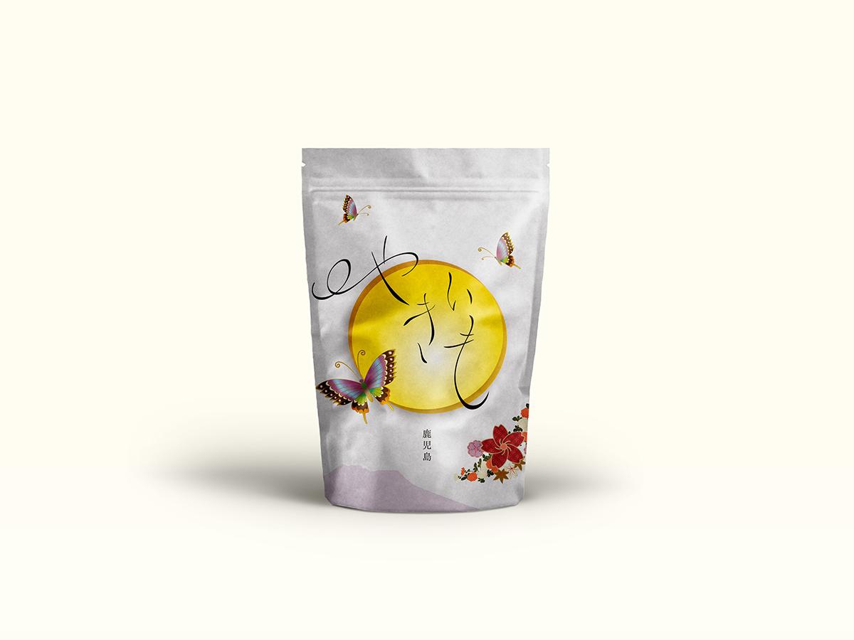 食品パッケージデザイン、和を意識したデザイン