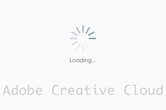 「Creative Cloud読み込み中」が終わらない時の対処法